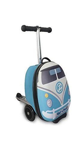 ZincFlyte Kid's Luggage Scooter 15'' - H20 The Bus by ZincFlyte