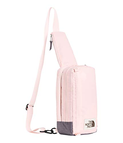 - The North Face Unisex Field Bag Pink Salt/Rabbit Grey Light Heather One Size
