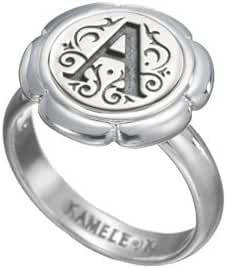 Kameleon Flower Cup Ring Size 8 * Jewelpop Authentic Silver New KR22size 8