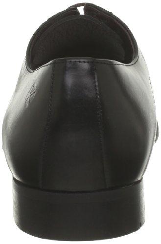 Kost - Zapatos de cordones de cuero para hombre Negro (Noir)