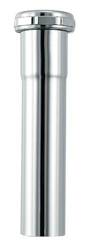 Plumb Craft 7632400N 1-1/4-Inch by 6-Inch Sink Tailpiece Extension (Brass Extension Pipe)