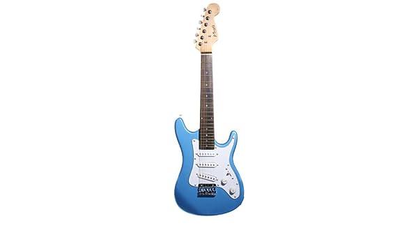 Blue Nevada Junior St Style Guitarra eléctrica Incluye DVD De Ejercicios: Amazon.es: Instrumentos musicales