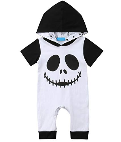 Mialoley Newborn Infant Baby Boy Halloween Clothes Hooded