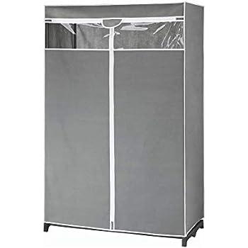 Amazon.com: Whitmor - Armario para ropa extra ancho ...