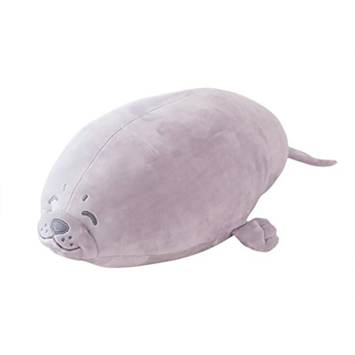 Elevin(TM)  Anime Seal Inu Plush Stuffed Sotf Pillow Doll Cartoon Seal Cute Seal Soft Toy (D)