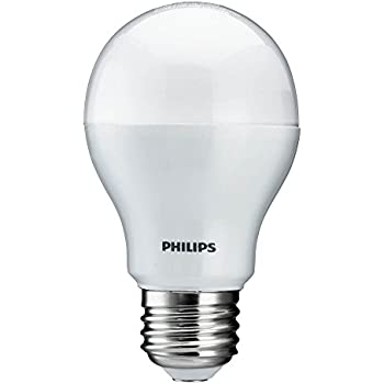 philips 429381 10 5 watt 60 watt equivalent 800 lumens 3000k a19 led household light bulb. Black Bedroom Furniture Sets. Home Design Ideas