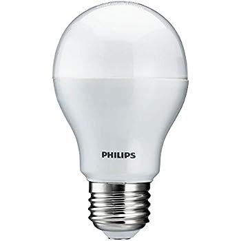 philips 429381 10 5 watt 60 watt equivalent 800 lumens 3000k a19 led household light bulb. Black Bedroom Furniture Sets. Home Design Ideas