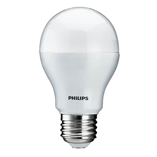 philips 430512 10 5 watt 800 lumens 3000k a19 led household light bulb. Black Bedroom Furniture Sets. Home Design Ideas