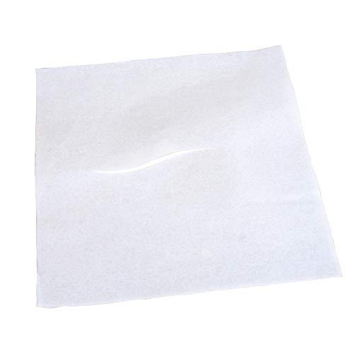 BodyMed® Premium Headrest Paper Sheets - with Slit - Disposable Medical Face Barrier - Exam Paper Sheets - Case of - Paper Premium Plain