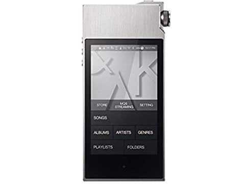 iriver Astell & Kern AK120II 128GB dual DAC & balanced output equipped with Stone Silver (Iriver Astell&kern Ak240)