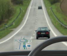 DriveRight Sticker For Driving In France Lane Safety Device Euro Travel