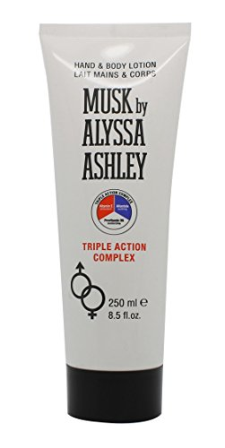 Alyssa Ashley Musk Hand and Body Lotion 250ml