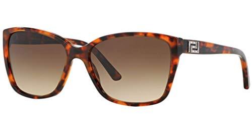 Versace Unisex 4268B 507413 Tortoise Treasure Wayfarer Sunglasses ()