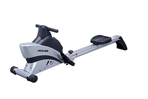 ASUNA 4500 Commercial Folding Rowing Machine Rower w/ Heart Rate Monitor