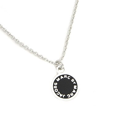 Trendy MJ Necklace Silver Black