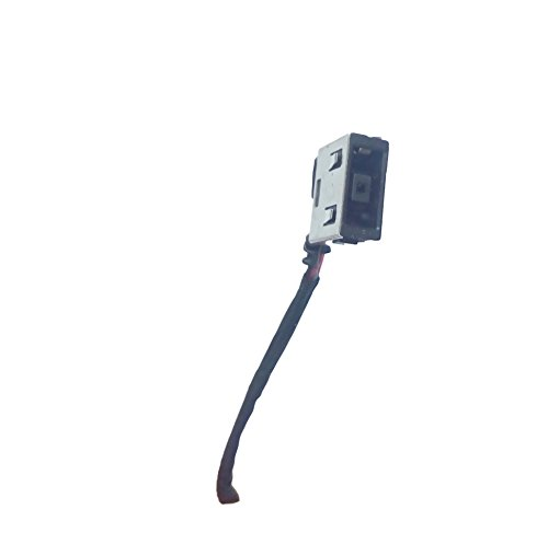 DC Power Jack Harness Port Connector Socket with Wire Cable. DC-IN Jack for Lenovo Ideapad Yoga 13 11201285 145500057 145500058 Yoga 13 20175 Yoga13 TOUCH 13-5934 13-5935 145500046