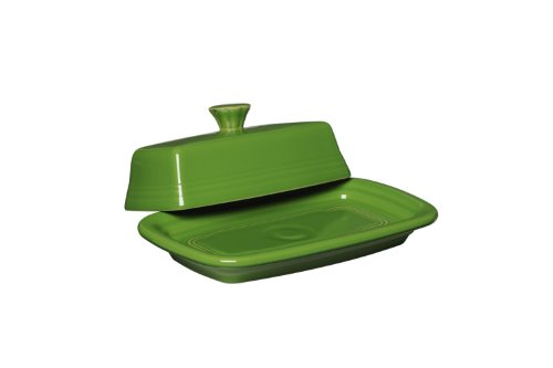 - Fiesta Covered Butter Dish, X-Large, Shamrock