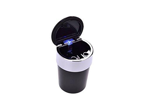 con LED Portacenere per auto a forma di teschio SV