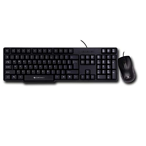 Zebronics JUWDAA 750 Wired Keyboard and Mouse Combo