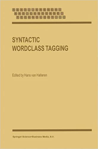 Book Syntactic Wordclass Tagging (Text, Speech and Language Technology)