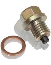 Big Bike Parts 5-302 M12 X 1.5 Magnetic Drain Plug