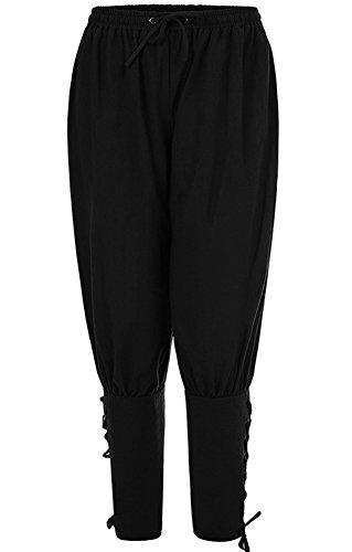 Hotmiss Men's Banded Pants Medieval Viking Navigator Trouser