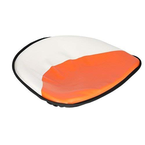 All States Ag Parts Pan Seat 21'' Deluxe Cushion Vinyl White & Orange Allis Chalmers D17 D12 D14 D19 D15 WC WD B D21 D10 WD45 C G CA by All States Ag Parts