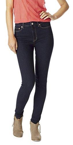 Aeropostale Womens High Rise Jegging Jeans 000 Short Blue