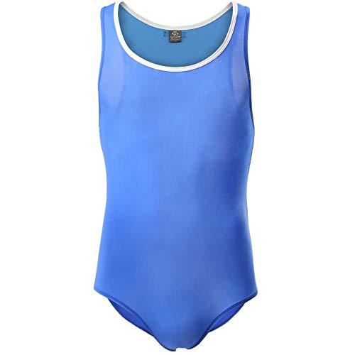 CSMARTE Unterwäsche für Männer Sportswear Shapers Sexy Bodysuit Tight Suit Bikini Trikot Einteiler Singlet