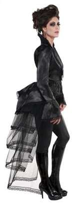 Gothic Tie-on Bustle Costume Accessory - Standard - Dress Size (Tie On Bustle)