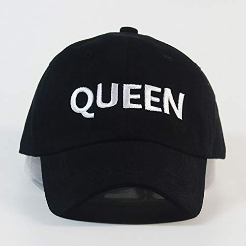 Tinksky Women s Queen Baseball Cap Hip Hop Couple Snapback Hat (Black)   Amazon.in  Clothing   Accessories b130e4cd6fb3