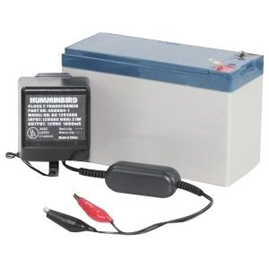Humminbird 7700281 GCBK CSB GP1272 Portable AGM Battery and Charger-Color may vary, Outdoor Stuffs