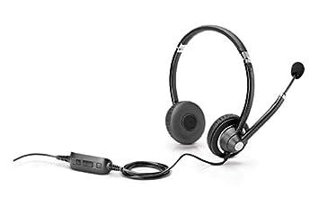 HP Auriculares con Cables UC - Auriculares con micrófono (PC/Juegos, Binaural, Diadema, Negro, Alámbrico, Circumaural): Hp: Amazon.es: Informática