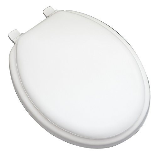 Bath Décor 6F1E1-00 Deluxe Soft Elongated Closed Front Toilet Seat