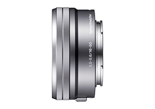 Sony SELP1650 16-50mm Power Zoom Lens (Silver, Bulk Packaging) (Best Lenses For Sony Nex Cameras)