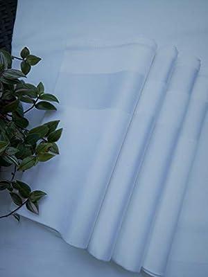 Servilleta grande 100% algodón – Juego de 12 – 53 cm x 53 cm (22 x ...
