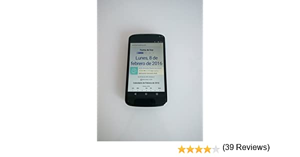 Google Nexus 4 - Smartphone (pantalla