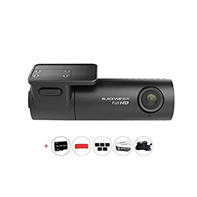 BlackVue DR590W-1CH Single Channel WiFi Dash Cam: Car Electronics