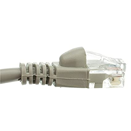 CAT5E Gray Hi-Speed LAN Ethernet Patch Cable 10 Feet CNE469350 MarginMart Inc. C/&E 10 pack Snagless//Molded Boot