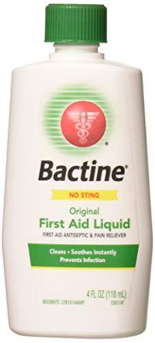 Aid Original First - Bactine Original First Aid Liquid 4 oz (Pack of 5)