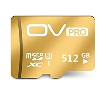 OV PRO Micro SD Card 3 XC I 512 GB High Speed Adaptador SD ...