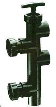 Pentair 263053 7-4/5-Inch Push Pull Valve Replacement Pool/Spa Sand and D.E. Filter