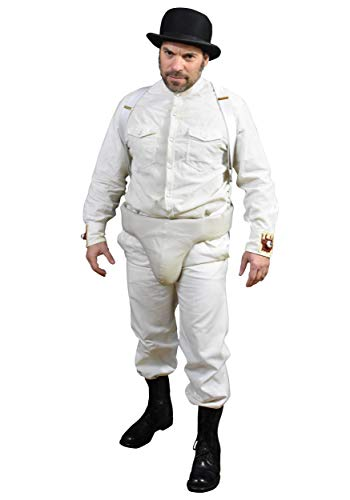 Trick or Treat Studios Men's Clockwork Orange Costume, Multi, One Size ()