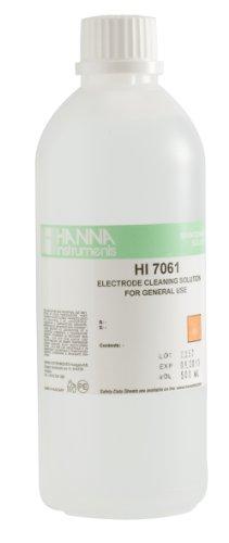 Hanna Instruments HI7061L General Purpose Electrode Cleaning Solution, 500mL Bottle (General Instrument)