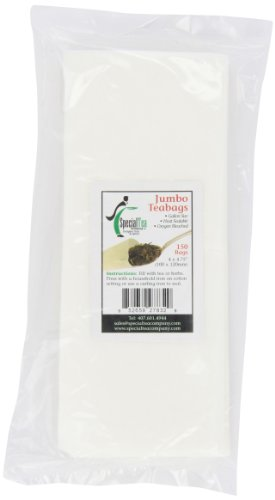 Special Tea Company 4 by 4.75-Inch 150-Piece Empty Tea/Herb Bags, (Empty Iv Bags)