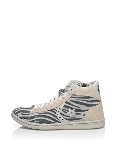 Converse Hightop Sneaker Mid Pro Leather Lp Can Zip PRI Naturweiß/Grau 2015 new sale online clearance latest best prices cheap online fake cheap price 41lOHn