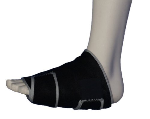 Plantar Fasciitis Ice Pack + Compression, Stops Heel Pain Fast. Icing Recommended by Orth MDS as Safe and Effective Treatment. Universal Size. Reusable. Made in USA. by Cold One