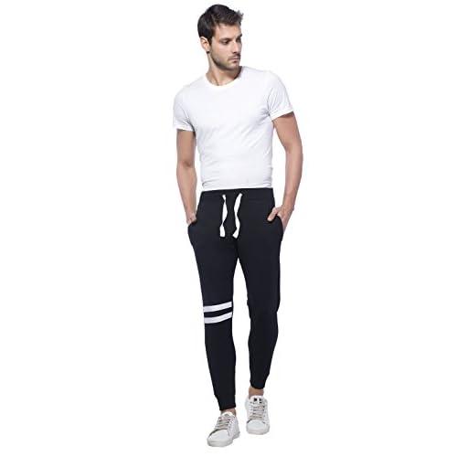 31657GAWJdL. SS500  - Alan Jones Clothing Men's Cotton Slim Fit Joggers