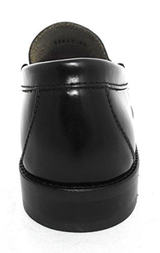 olio Uomo Antifaz Scarpa Scarpe Mocassini Mocassino Uomo Uomo Uomo Nero in in Scarpe Mocassini da Pelle Scarpe Cuoio Zerimar Sqw5UpZ