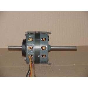 Fasco 7176 0060 1 8 hp double shaft motor 208 230v 1050 for 1 8 hp electric motor